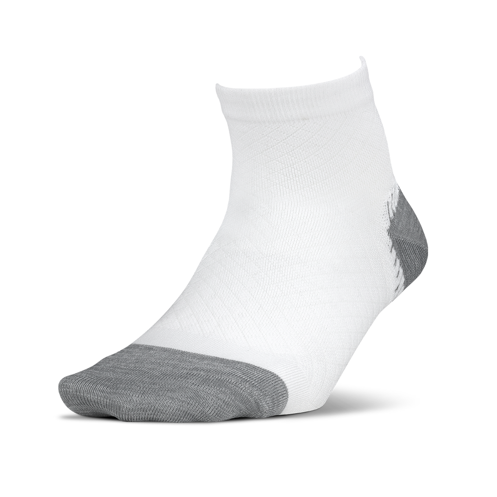 Plantar Fasciitis Relief Cushion Sock Quarter Arch Support for Men and Women Feetures