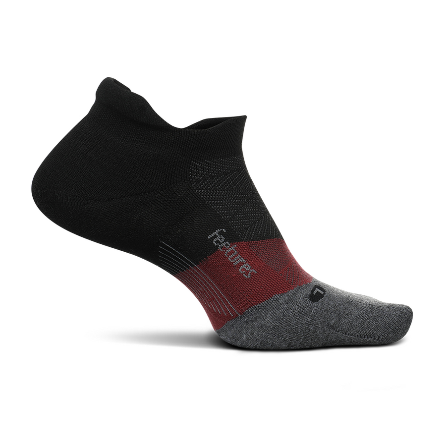 Feetures! Elite Max Cushion No-Show Tab Socks