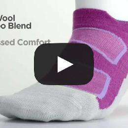 Feetures! Elite Merino+ Heavy Cushion Crew