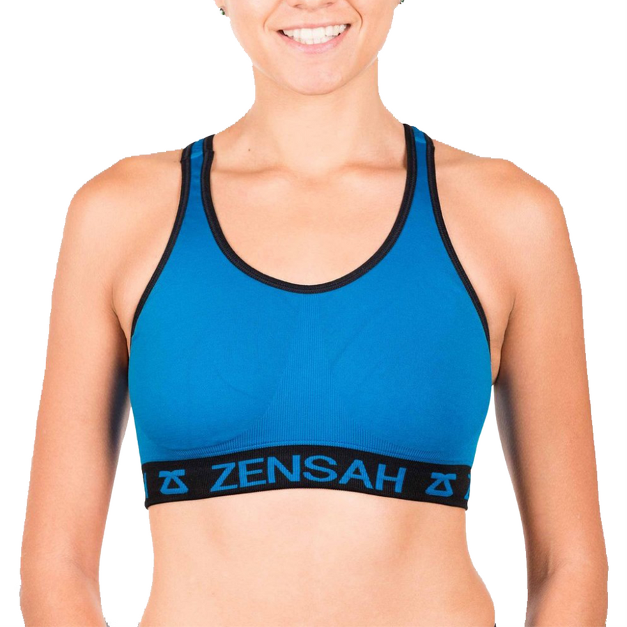 Zensah Seamless Reversible Sports Bra