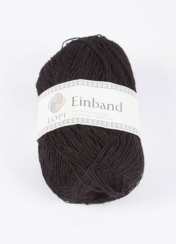 Icelandic sweaters and products - Einband 0059 Wool Yarn - Black Einband Wool Yarn - Shopicelandic.com