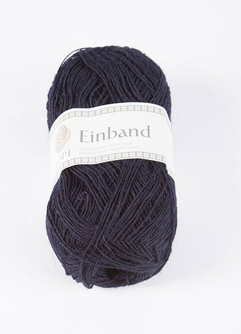 Icelandic sweaters and products - Einband 0709 Wool Yarn - Midnight Blue Einband Wool Yarn - Shopicelandic.com
