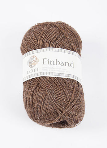Icelandic sweaters and products - Einband 0853 Wool Yarn - Brown Einband Wool Yarn - Shopicelandic.com
