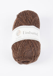 Icelandic sweaters and products - Einband 0867 Wool Yarn - Chocolate Einband Wool Yarn - Shopicelandic.com