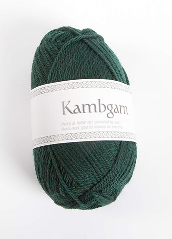 Icelandic sweaters and products - Kambgarn - 0969 Forest Green Kambgarn Wool Yarn - Shopicelandic.com
