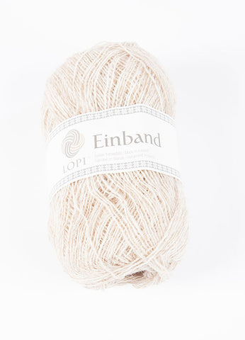 Icelandic sweaters and products - Einband 1038 - Light Beige Heather Einband Wool Yarn - Shopicelandic.com