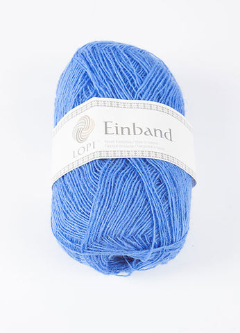 Icelandic sweaters and products - Einband 1098 Wool Yarn - Vivid Blue Einband Wool Yarn - Shopicelandic.com