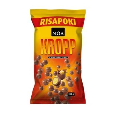 "Icelandic sweaters and products - Noi Sirius ""Kropp"" Corn Puffs (360gr) Candy - Shopicelandic.com"