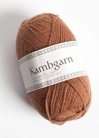 Icelandic sweaters and products - Kambgarn - 1203 Almond Kambgarn Wool Yarn - Shopicelandic.com