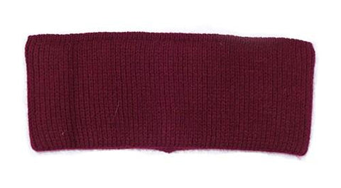 Ladies Headband Burgundy