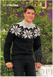 Icelandic sweaters and products - Stórstirni Mens Wool Sweater Black Tailor Made - Shopicelandic.com