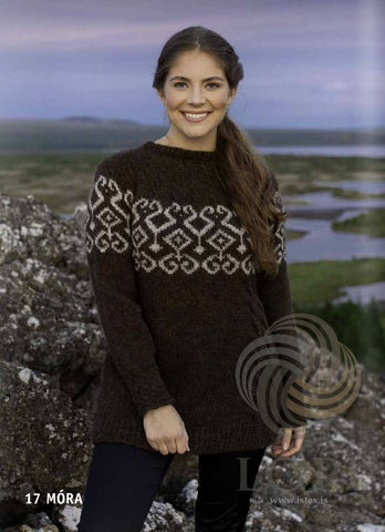 - Icelandic Móra Women Wool Sweater Black - Tailor Made - Nordic Store Icelandic Wool Sweaters  - 1