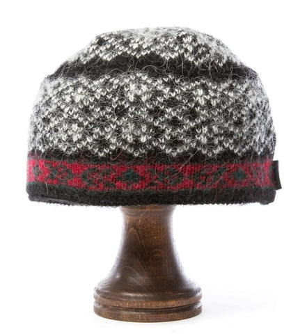 Norwegian Wool Hat Black