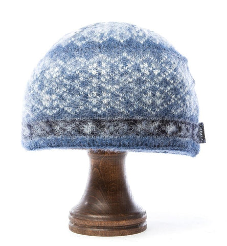 Norwegian Wool Hat Blue