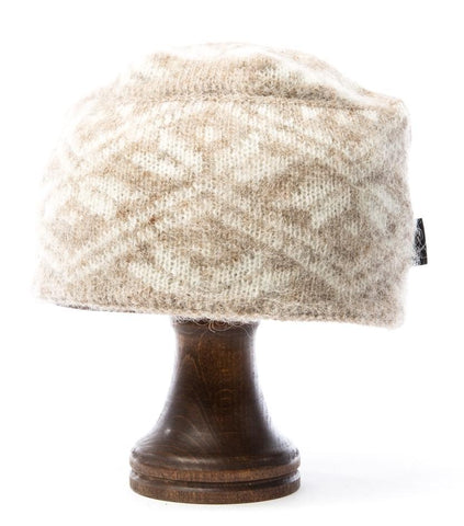 Norwegian Wool Hat Beige