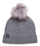 Wool Hat w/Faux fur Grey