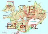 Special Maps of Iceland - Maps - Shop Icelandic Products - 1