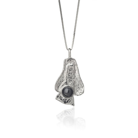 Icelandic sweaters and products - Black lava tear necklace - Big Jewelry - Shopicelandic.com