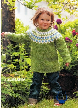 Istex Blaklukka Green - knitting kit - Wool Knitting Kit - Shop Icelandic Products