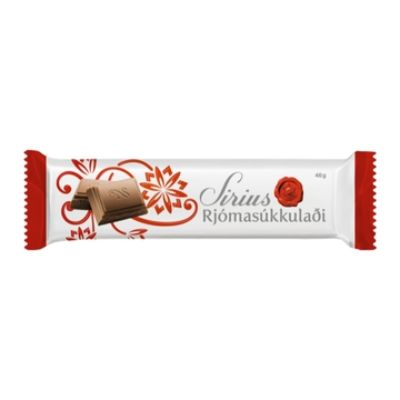 Icelandic sweaters and products - Noi Sirius Bar 46gr Plain Chocolate Candy - Shopicelandic.com