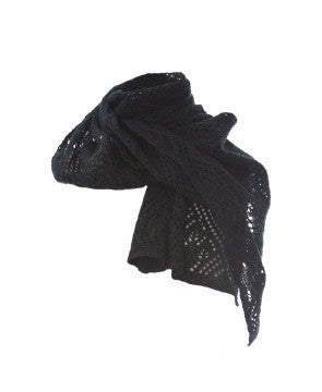 Ladies Wool Scarves Dark Grey - Wool Accessories - Shop Icelandic Products