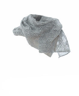 Ladies Wool Scarves Light Gray - Wool Accessories - Shop Icelandic Products