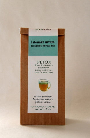 Icelandic sweaters and products - Detox - Herbal Tea Tea - Shopicelandic.com