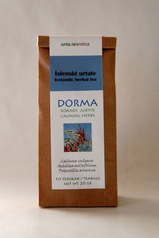 Icelandic sweaters and products - Dorma - Herbal Tea Tea - Shopicelandic.com