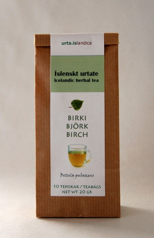 Icelandic Products Birch - Herbal Tea Tea- ShopIcelandic