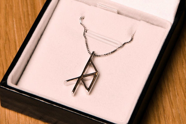 Virgo Zodiac Runes - Jewelry - Shop Icelandic Products