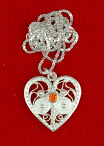 Icelandic Silver Heart. - Jewelry - Shop Icelandic Products