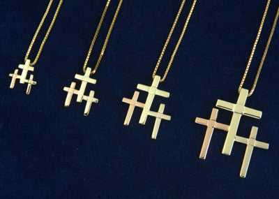 Golden Trinity Necklace - Jewelry - Shop Icelandic Products