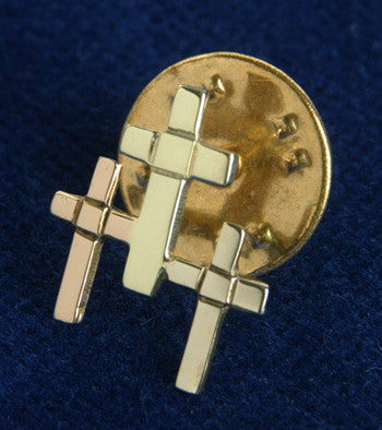 Golden Trinity Lapel Pin - Jewelry - Shop Icelandic Products