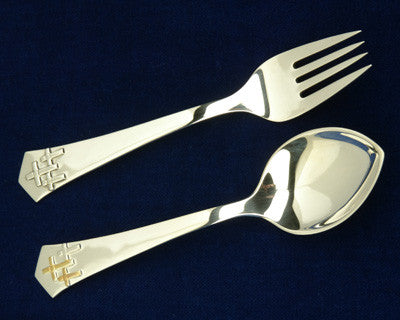 Golden Trinity Silver Fork - Jewelry - Shop Icelandic Products