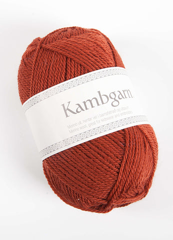 Icelandic sweaters and products - Kambgarn - 9653 Auburn Kambgarn Wool Yarn - Shopicelandic.com