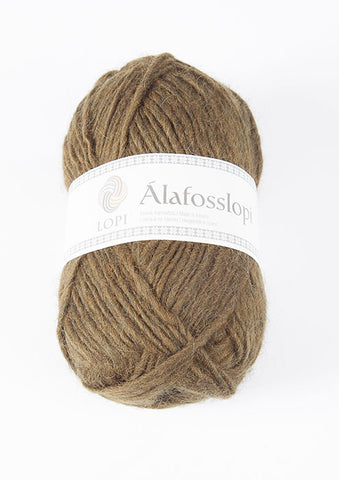 Icelandic sweaters and products - Alafoss Lopi 9987 - dark olive Alafoss Wool Yarn - Shopicelandic.com