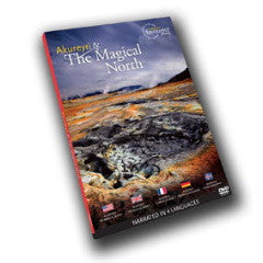 Icelandic sweaters and products - Akureyri and The Magical North (DVD) DVD - Shopicelandic.com