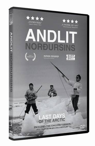 Icelandic sweaters and products - Andlit norðursins - The Last Days of the Arctic (DVD) DVD - Shopicelandic.com