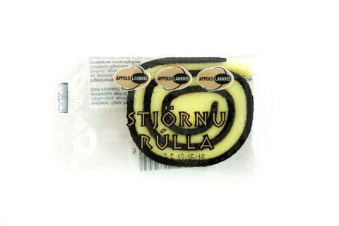 Icelandic sweaters and products - Appolo Liquorice Star Rolles (35gr) Candy - Shopicelandic.com