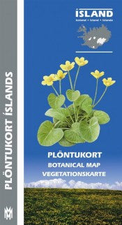 Icelandic Products Botanical Map Maps- ShopIcelandic