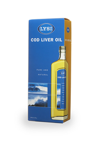 Icelandic sweaters and products - Cod Liver Oil (500ml) Cod Liver Oil - Shopicelandic.com