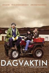Icelandic sweaters and products - Dagvaktin - The Day Shift (DVD) DVD - Shopicelandic.com
