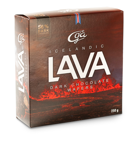 Icelandic sweaters and products - Goa LAVA BITES (250gr)  56% Dark Chocolate Candy - Shopicelandic.com