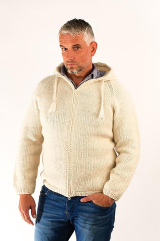 Freri Wool Sweater White - Wool Sweaters - Shop Icelandic Products