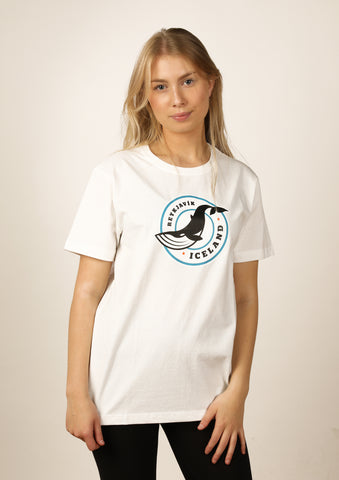 Women's Iceland T-shirt Whale