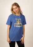 Icelandic sweaters and products - Women's Iceland T-shirt Viking Woman Tshirts - Shopicelandic.com