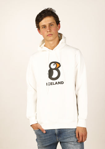 Icelandic sweaters and products - Iceland Men Hoodie Puffin Hoodies - Shopicelandic.com