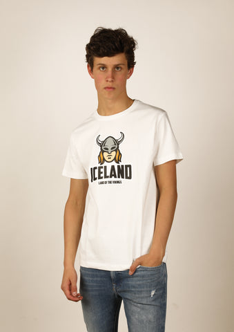Icelandic sweaters and products - Men's Iceland T-shirt Viking Woman Tshirts - Shopicelandic.com