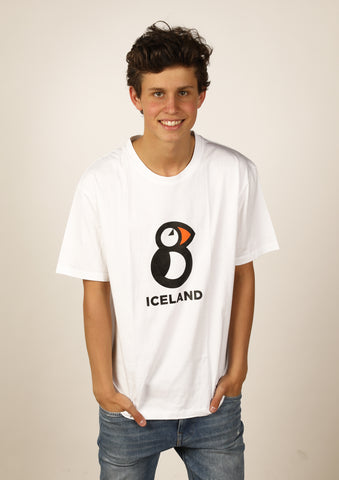 Men's Iceland T-shirt Puffin
