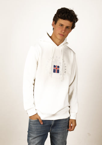 Icelandic sweaters and products - Iceland Men Hoodie Coat of Arms Hoodies - Shopicelandic.com